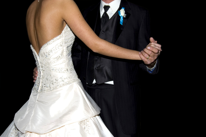 para młoda na ślubie